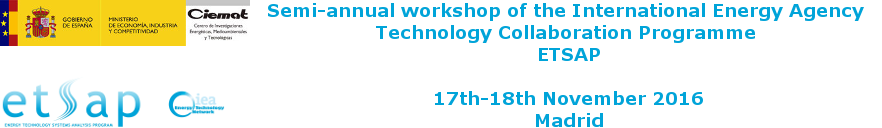 Energy Technology Systems Analysis Programme Workshop